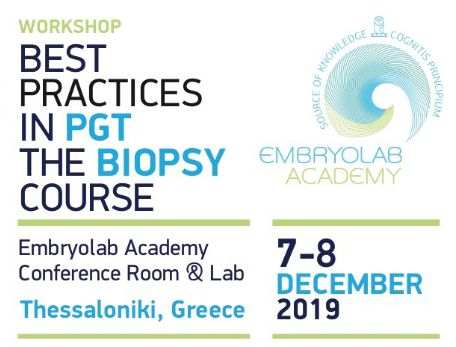Best Practices in PGT , a Hands On Workshop by Embryolab Academy