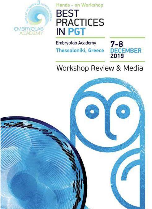 PGT 2019 Workshop Review