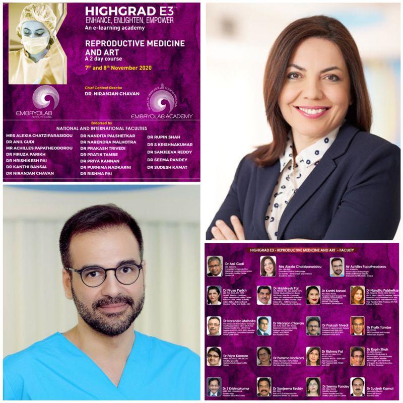 "International HIGHGRAND E3 elearning platform ""Reproductive Medicine and ART"""